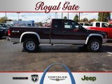 2004 Deep Molten Red Pearl Dodge Dakota SLT Club Cab 4x4 #55756603