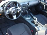 2009 Mazda MX-5 Miata Sport Roadster Black Interior