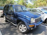2002 Patriot Blue Pearlcoat Jeep Liberty Limited #55779235