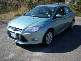 2012 Frosted Glass Metallic Ford Focus SEL Sedan #55779226