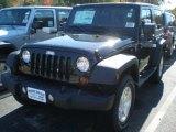 2012 Black Jeep Wrangler Sport S 4x4 #55779219