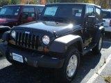 2012 Black Jeep Wrangler Sport S 4x4 #55779210