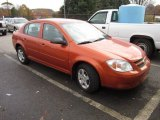 2007 Sunburst Orange Metallic Chevrolet Cobalt LS Sedan #55756571