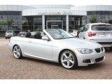 2012 Titanium Silver Metallic BMW 3 Series 335i Convertible #55779612