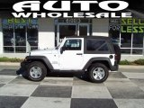2011 Bright White Jeep Wrangler Sport S 4x4 #55779580