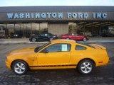 2007 Grabber Orange Ford Mustang V6 Premium Coupe #55846660