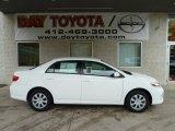 2011 Super White Toyota Corolla LE #55846523