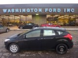2012 Black Ford Focus SE 5-Door #55846650