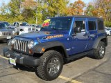 2010 Jeep Wrangler Unlimited Deep Water Blue Pearl