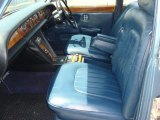 Rolls-Royce Silver Shadow Interiors
