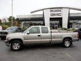 2001 Light Pewter Metallic Chevrolet Silverado 1500 LS Extended Cab 4x4 #55846628