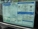 2011 Honda CR-V LX Window Sticker