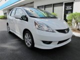 2011 Taffeta White Honda Fit Sport #55846463