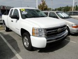 2009 Summit White Chevrolet Silverado 1500 LT Extended Cab #55846740