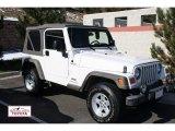 2006 Stone White Jeep Wrangler Sport 4x4 #55846446