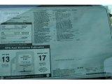 2012 Toyota Tundra SR5 Double Cab 4x4 Window Sticker