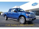 2011 Blue Flame Metallic Ford F150 XLT SuperCrew 4x4 #55846596