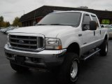 2004 Oxford White Ford F250 Super Duty Lariat Crew Cab 4x4 #55846720