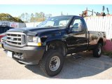 2003 Black Ford F250 Super Duty XL Regular Cab 4x4 #55846716