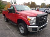 2012 Vermillion Red Ford F250 Super Duty XL Regular Cab 4x4 #55846576
