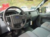 2012 Ford F250 Super Duty XL Regular Cab 4x4 Steel Interior