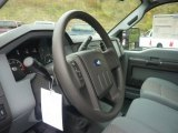 2012 Ford F250 Super Duty XL Regular Cab 4x4 Steering Wheel