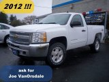 2012 Summit White Chevrolet Silverado 1500 LT Regular Cab 4x4 #55846538