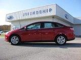 2012 Red Candy Metallic Ford Focus SEL Sedan #55871007