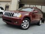 2008 Red Rock Crystal Pearl Jeep Grand Cherokee Limited #55871015