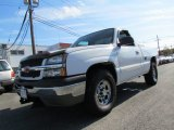 2004 Summit White Chevrolet Silverado 1500 Z71 Regular Cab 4x4 #55875026
