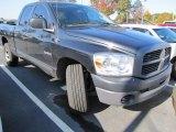 2008 Brilliant Black Crystal Pearl Dodge Ram 1500 ST Quad Cab #55874995