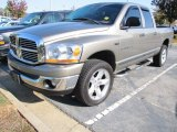 2006 Mineral Gray Metallic Dodge Ram 1500 SLT Quad Cab 4x4 #55874984