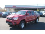 2012 Nautical Blue Metallic Toyota Tacoma V6 TRD Double Cab 4x4 #55875142