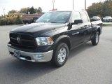 2012 Black Dodge Ram 1500 SLT Quad Cab #55875308
