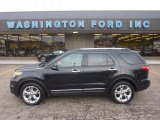 2011 Ebony Black Ford Explorer Limited 4WD #55875134