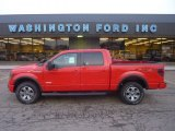 2011 Race Red Ford F150 FX4 SuperCrew 4x4 #55875132