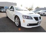 2009 Pontiac G8 White Hot