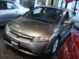 2006 Galaxy Gray Metallic Honda Civic EX Sedan #5566906