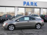 2006 Galaxy Gray Metallic Honda Civic EX Coupe #5560242