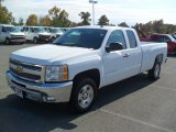 2012 Summit White Chevrolet Silverado 1500 LT Extended Cab #55875274