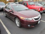2009 Basque Red Pearl Acura TSX Sedan #55874876