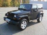 2012 Black Jeep Wrangler Sahara 4x4 #55875258