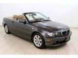 2005 Sparkling Graphite Metallic BMW 3 Series 325i Convertible #55875249