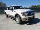 2011 White Platinum Metallic Tri-Coat Ford F150 King Ranch SuperCrew #55875070