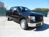 2011 Ebony Black Ford F150 XL SuperCrew #55875068