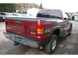 2003 GMC Sierra 2500HD Dark Toreador Red Metallic