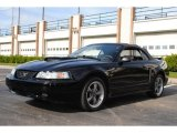 2001 Black Ford Mustang GT Convertible #55906245