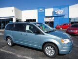 2010 Clearwater Blue Pearl Chrysler Town & Country LX #55905991
