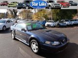 2002 True Blue Metallic Ford Mustang V6 Coupe #55906470