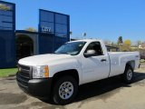 2012 Summit White Chevrolet Silverado 1500 Work Truck Regular Cab 4x4 #55905910